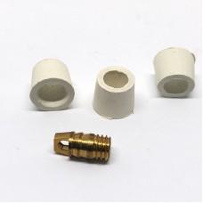 Ремкомплект для заправочного шланга 1/4 резиновый ( 3 шт.+ 1шт.)