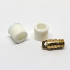 Ремкомплект для заправочного шланга 1/4 тефлон ( 2шт.+ 1шт.)