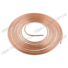 Труба медная 1/2 (12,7 мм) Китай, бухта 15м, толщина стенки трубки 0,7 мм (KTC)