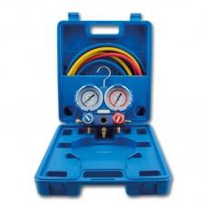 Коллектор заправочный 2-вентильный VMG-2-R1234YF Value в кейсе