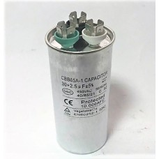 Конденсатор пусковой, рабочий СВВ65 30+2,5 мкФ, 450В., (±5%)