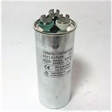 Конденсатор пусковой, рабочий СВВ65 45+1,5 мкФ, 450В., (±5%)