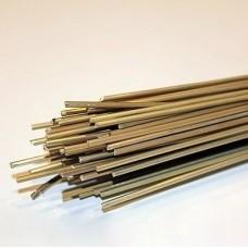 Припой АЛАРМЕТ-211 (медь+сталь) d=2мм L=50см (1 пруток)