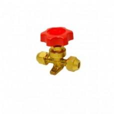 Вентиль с ручным приводом KM-1/4 SAE